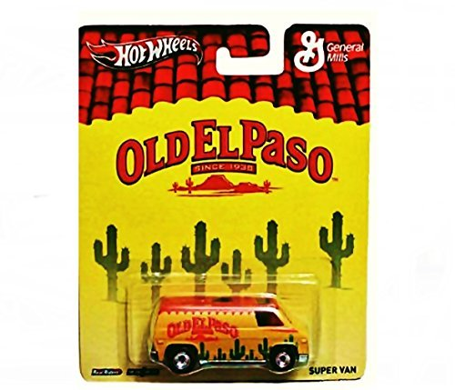 Hot Wheels Pop Culture Old El Paso Super Van