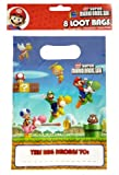 Super Mario Bros Wii Party - Loot Bags x 8