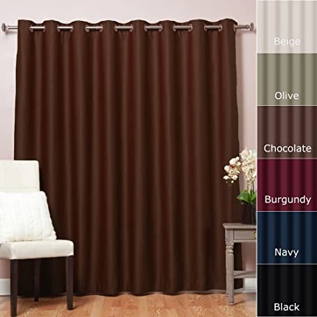 Patio Door Insulated Curtains
