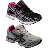 BARGAINS-GALORE® LADIES WOMENS GIRLS SPORTS GYM JOGGING RUNNING CASUAL TRAINERS TRAINER SIZE 3-8UK