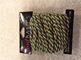 Cousins Cord Basics green & gold sparkle cord 16.4 feet