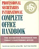 img - for Professional Secretaries International Complete Office Handbook, book / textbook / text book