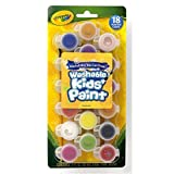 Crayola 54-0125 18 Count Assorted Colors Washable Kid's Paint, Case of 6 Packs by Binney & Smith