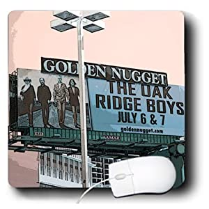 mp_64549_1 Jos Fauxtographee Realistic - The Oak Ridge Boys sign at the Golden Nugget in Las Vegas, Nevada - Mouse Pads