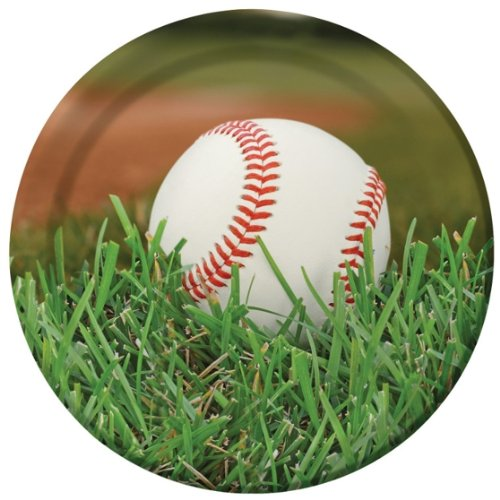 "Baseball Fanatic 9"" Lunch/Dinner Plates (8 ct)"