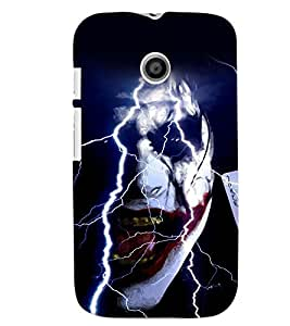 Motorola Moto E MULTICOLOR PRINTED BACK COVER FROM GADGET LOOKS