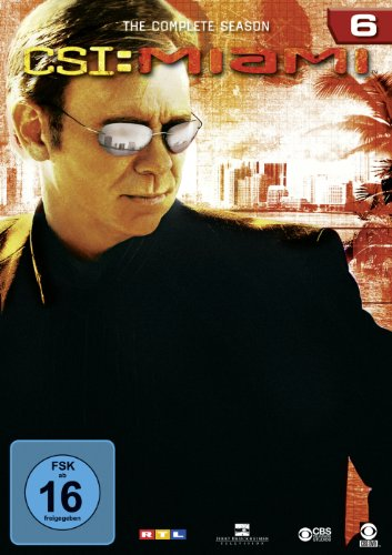 CSI: Miami - Die komplette Season 6 [6 DVDs]
