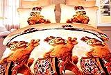 INDIANO Kids Double Bedsheet