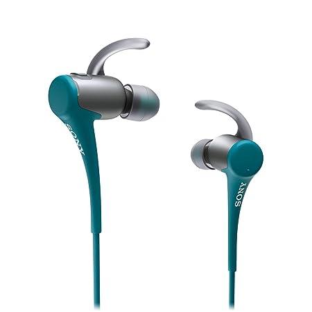 Sony Sport MDR-AS800BTL Ecouteurs intra-auriculaires avec Bluetooth Bleu