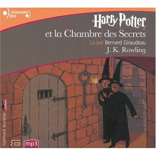 Harry Potter et la Chambre des Secrets / French audio (8 CD's) edition of Harry Potter and the Chamber of Secrets (French Edition)