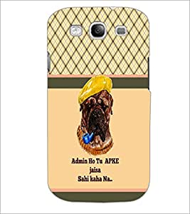 PrintDhaba Quote D-5815 Back Case Cover for SAMSUNG GALAXY S3 (Multi-Coloured)