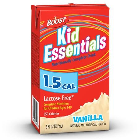Boost Kid Essentials 8 Oz. French Vanilla/Case Of 27