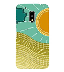 Sunshine Design 3D Hard Polycarbonate Designer Back Case Cover for Motorola Moto G4 :: Motorola Moto G (4th Gen)