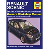 Renault Scenic Petrol and Diesel Service and Repair Manual: 2003 to 2006 (Haynes Service and Repair Manuals)by Haynes