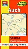 echange, troc Plans Blay Foldex - Plan de ville : Auch (avec un index)