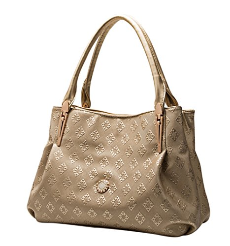 TUODAWEN(TM) Women's Classic Synthetic Leather Totes Shoulder Bag