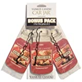 Yankee Candle Home Sweet Home(r) 3 Pk Car Jars Scented Candle