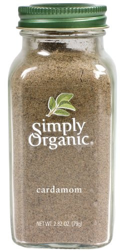 Simply Organic Cardamom, 2.82 Ounce Food, Beverages ...