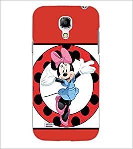PrintDhaba Minnie Mouse D-1361 Back Case Cover for SAMSUNG GALAXY S4 MINI (Multi-Coloured)