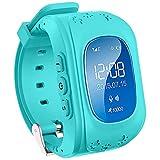 TURNMEON GPS Smart Watch Kid Safe pour smart Montre bracelet SOS Appel Location Finder Locator Tracker for Child Anti Perdu Moniteur pour enfant (bleu)...