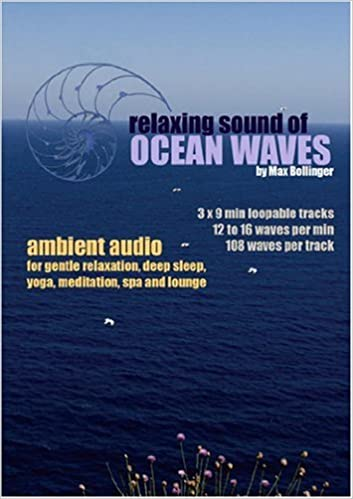 Relaxing Sound of Ocean Waves - Ambient Audio for Gentle Relaxation, Deep Sleep, Yoga, Meditation - Max Bollinger