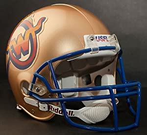 Buy ARIZONA WRANGLERS 1983-1984 USFL Riddell VSR-4 Pro Line FULL SIZE AUTHENTIC Football Helmet by ON-FIELD