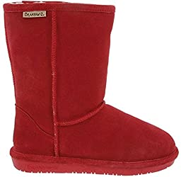 Bearpaw 608 W Emma Short Cranberry Womens Casual Boots Size 8M