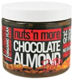 Nuts N More Almond Butter, Chocolate, 16 Ounce