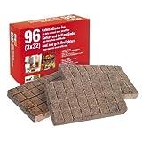 4 Packungen á 96 Grill-Ofen- und Kaminanzünder aus Naturholz mit Wachs Art. 267