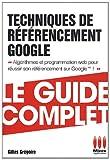 echange, troc Gilles Grégoire - Techniques de référencement Google