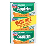 Rite Aid Children's Chewable Aspirin Orange Flavor 81mg Tablets 108 ea