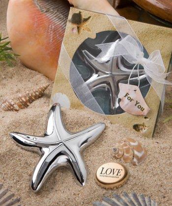 Set of 50 Starfish Bottle Openers Beach Theme Wedding Favors Free Shipping