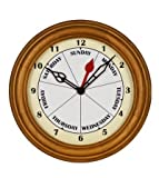 Day Clocks Sco Clock This Small Contemporary Oak Clock