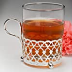 Moroccan style Tea Glass and Silver P...