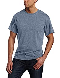 Russell Athletic Men\'s Basic T-Shirt, Black Heather, 4X-Large