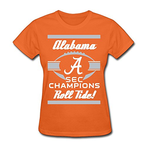 LOOIN Women's ALABAMA CRIMSON 2015 SEC CONFERENCE FOOTBALL CHAMPIONS 1 T-Shirt