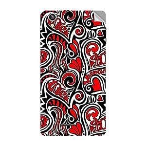 Garmor Designer Mobile Skin Sticker For OPPO R815T - Mobile Sticker