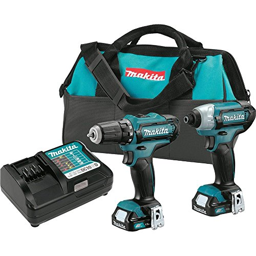 Why Choose Makita CT226 12V Max CXT Lithium-Ion Cordless Combo Kit, (2 Piece)