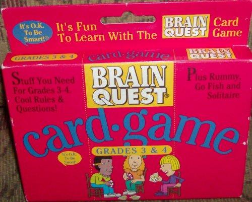Brain Quest Card Game Grades 3 & 4 - 1