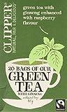 Clipper Fairtrade Green With Ginseng 20 Tea Bags, 40g