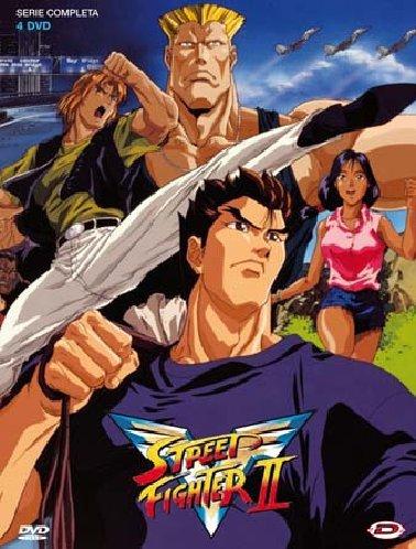 Street fighter II V(serie completa)