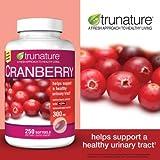 trunature Cranberry 300 mg, 250 Softgels (Tamaño: 250 Softgels)