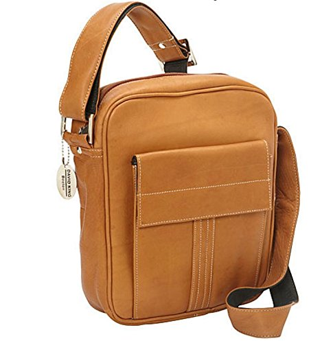 david-king-co-deluxe-medium-size-messenger-with-flap-tan-one-size