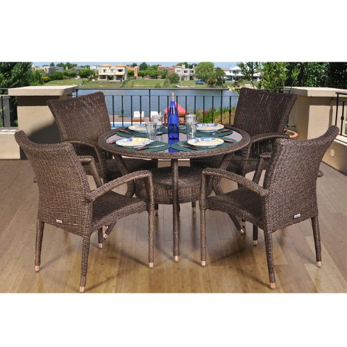 Atlantic Bari 9 Piece Dining Set