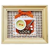 Billy handmade dollhouse kit mini amount frame kit Cook 8798 (japan import)