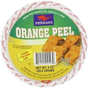 Pennant Diced Orange Peel, 8 Ounce