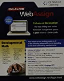 WebAssign, 1 term (6 months) Printed Access Card for Developmental Math, Single-Term Courses