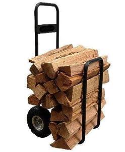 Amazon com firewood carrier cart wheelbarrel log hauler wood home