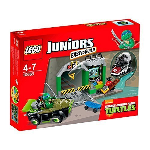 LEGO Juniors Turtles Lair 10669 by LEGO