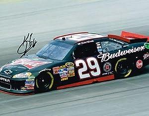 Autographed Harvick Picture - 11X14 COA - Autographed NASCAR Photos by Sports Memorabilia